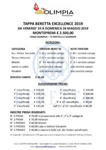3° Prova di Campionato Sociale - Tappa Beretta Excellence @ TAV Olimpia Crevalcore